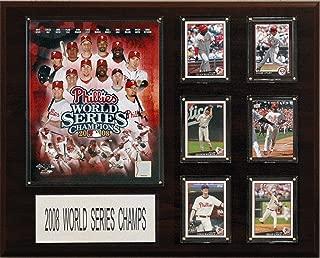 MLB Philadelphia Phillies 2008 World Series Champions Plaque