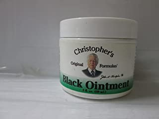 2 pack of Dr. Christophers Formula Black Drawing Ointment 2 Oz