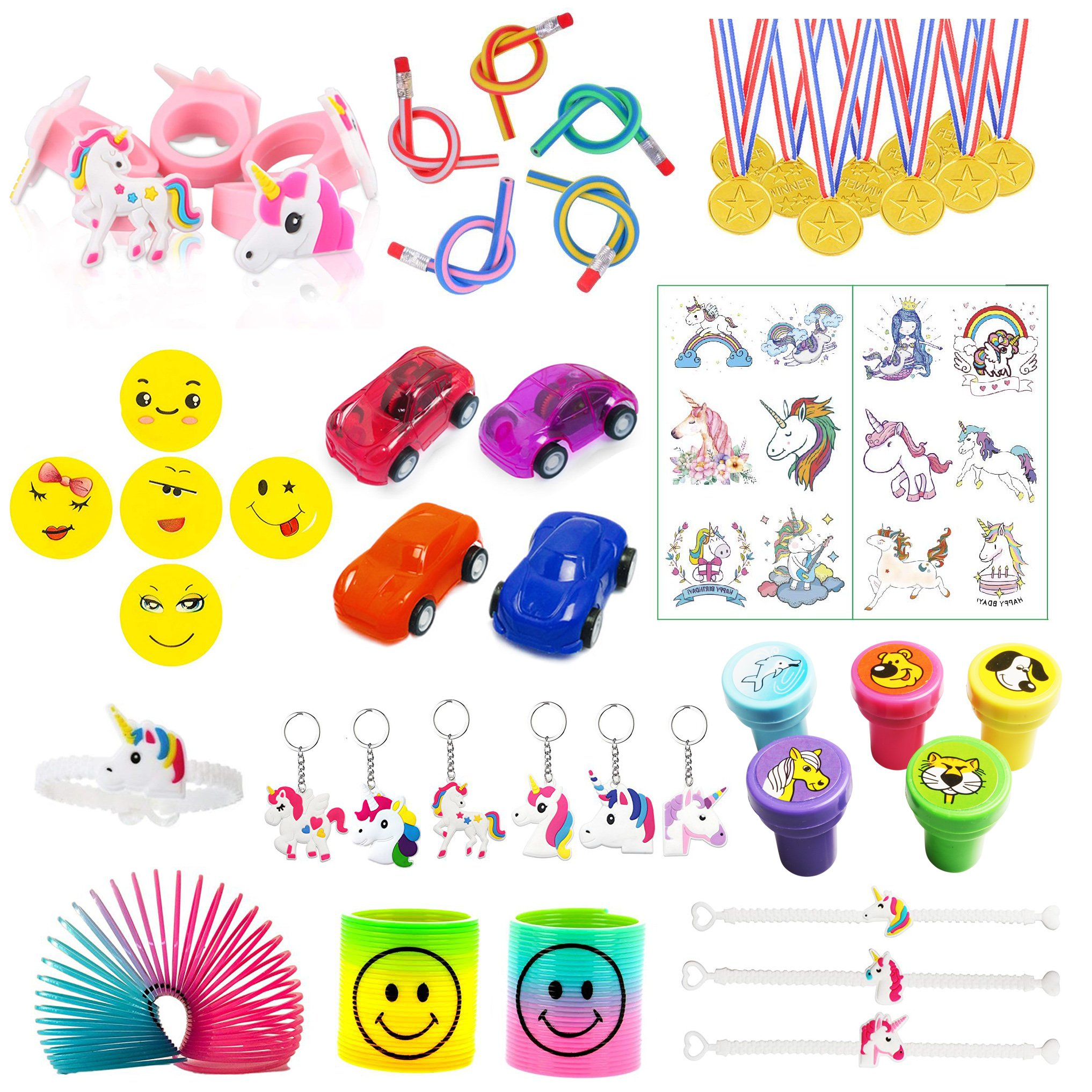 MIXED PARTY BAG FILLER TOYS FAVOUR PRIZES BOYS GIRLS BIRTHDAY LOOT FILLERS