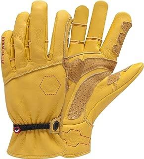 StoneBreaker Gloves Horseman Extra Large Work Glove, X-Large, Yellow