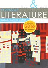 Bundle: PORTABLE Literature: Reading, Reacting, Writing, 2016 MLA Update, 9th + MindTap Literature, 1 term (6 months) Printed Access Card