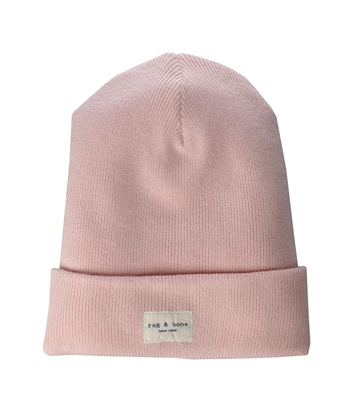 rag and bone  Addison Beanie (Pink Rose) Caps