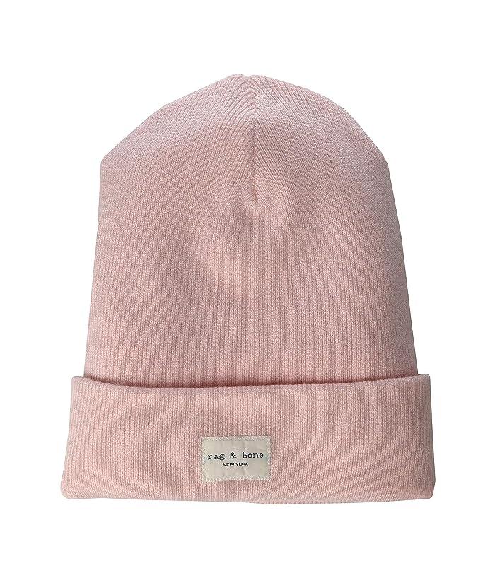 rag and bone  Addison Beanie (Pink Rose) Caps