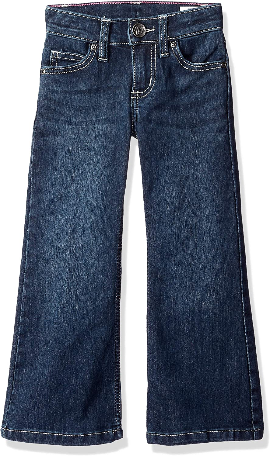 Wrangler Girls' New color Stretch Boot Cut security Jean