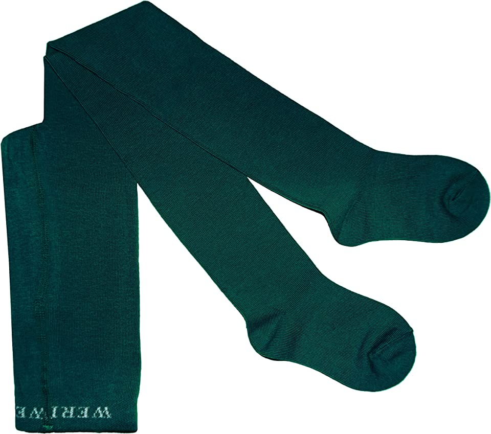 Baby and children's tights for girls and boys, plain smooth in 19 great colours made of cotton