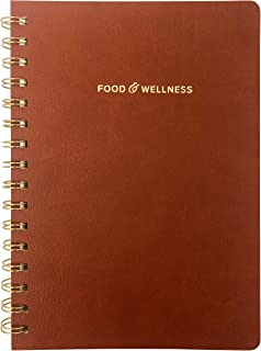 Food and Exercise Journal for Women. Track Meals, Nutrition and Weight Loss - 90 Days (Walnut Brown)