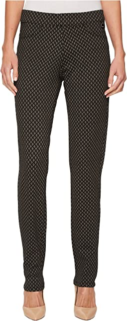 FDJ French Dressing Jeans - Printed PDR Pull-On Slim Jeggings in Charcoal