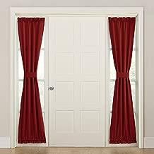 (brick, 26x72) - Sun Zero Bartlett Energy Efficient Sidelight Curtain Panel