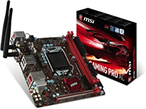 MSI Gaming Intel H270 DDR4 HDMI USB 3 mini-ITX Motherboard (H270I GAMING PRO AC)