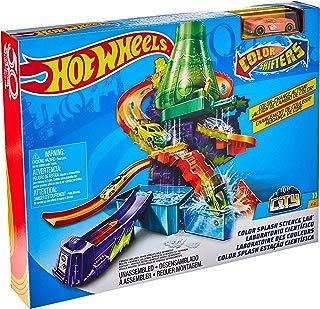 Hot Wheels Com Estação Cientifica Mattel Multicor