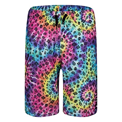 Hurley Kids Bandana Tie-Dye Pull-On Boardshorts (Big Kids) Boy