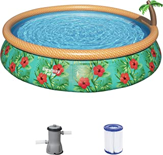 Bestway Pool Set Fastset Paradise Palm 457X84Cm