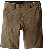 Volcom Kids - SNT Static Hybrid Shorts (Big Kids)
