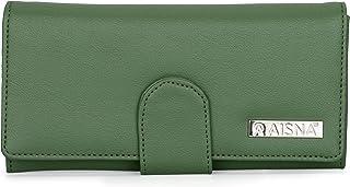Aisna Women's Clutch (ASC-042)(Green)