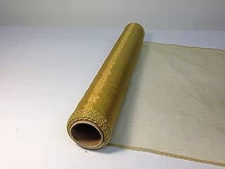Rollo de 9 metros de tela de organza, 40cm de ancho, varios colores