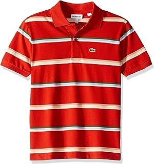 Lacoste Boy Summer Lover Striped Pique Polo