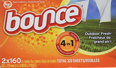 Best bounce dryer sheets 320 ct Reviews