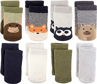 Luvable Friends Unisex Baby Fun Essential Socks, Fox Owl, 0-6 Months
