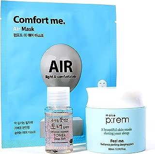 MAKEP:REM Peel Me. Radiance Peeling Sleeping Pack l 80ml / 2.70 fl. oz.   Overnight Facial Treatment   Hypoallergenic PHA, Peeling, Brightening, Anti-wrinkle, and Moisturizing. by MAKEPREM MAKE P:REM