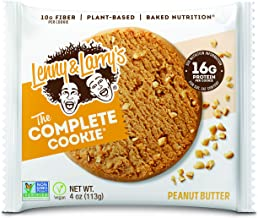 Lenny Larry s The Complete Cookie Peanut Butter Cookies – Pack of 12 Estimated Price : £ 21,99
