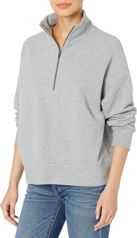 Vince Women's Half Zip Pullover