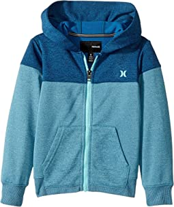 Hurley Kids - Dri-Fit Solar Zip Hoodie (Little Kids)