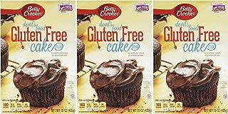 Gluten Free Cake Mix (Devils Food) - 15oz (Pack of 3) by Betty Crocker