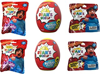 RYAN'S WORLD Ultimate Surprise Lot of 6 Includes: Figures , Jellies & Egg Plush from Ryan's Toy Review