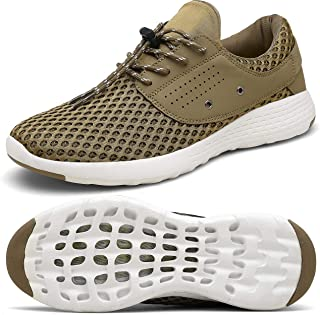 Mens Womens Water Shoes for Barefoot Shower Swimming Diving Surfing Quick Dry Drainage Aqua Upstream Shoes Boating Fishing Yoga Driving Running Walking Fashion Sneakers
