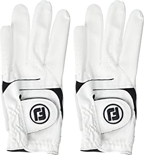 New Improved FootJoy WeatherSof Mens Golf Gloves (2 Pack) - World #1 Golf Glove