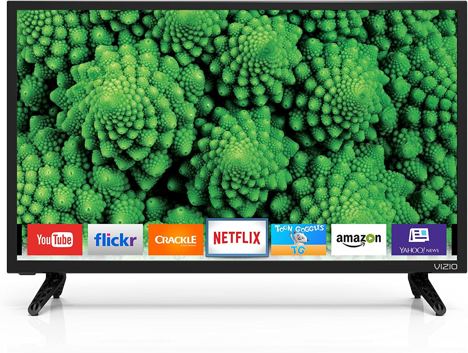 Vizio 24IN Price reduction D-Series LED Smart DIAG TV D24H-E1 New Orleans Mall 23.54IN