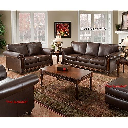 Leather Furniture: Amazon.com