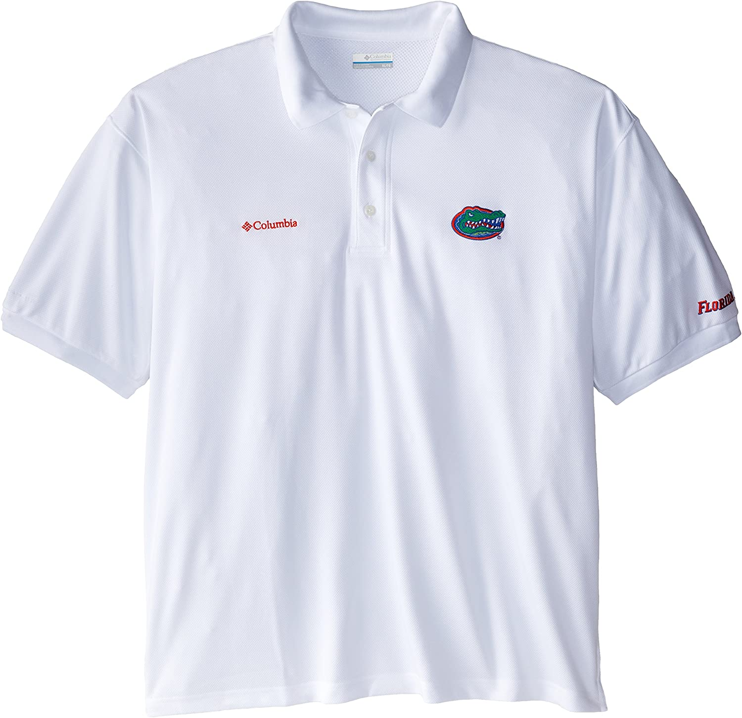 Columbia Los Angeles Mall NCAA Florida Gators Perfect Whi Polo - low-pricing Cast Performance