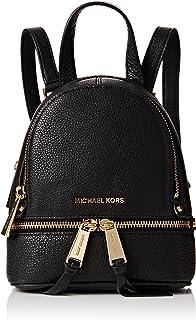 حقيبة يومية غير رسمية جلد أسود من مايكل كورس