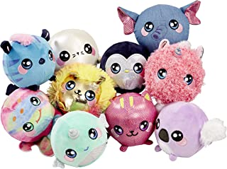 Squeezamals BH65890.4300 Slow Rise, Cuddly, Soft, Squshie, Sweet Scented Plush Animal Toy, Multi