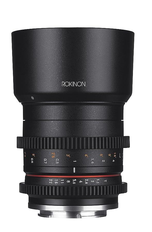 Rokinon CV50M-E 50mm T1.3 Compact High Speed Cine Lens for Sony E-Mount, Black