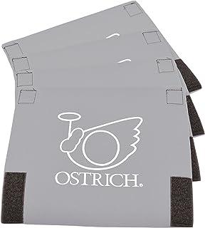 オーストリッチ(OSTRICH) 輪行アクセサリー [フレームカバーC] 4枚セット グレー