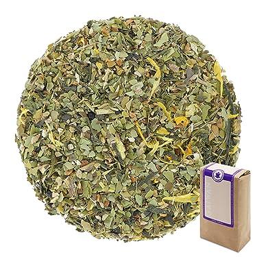 "Núm. 1327: orgánico ""Energía de mate"" - hojas sueltas ecológico - 250 g - GAIWAN® GERMANY - yerba mate verde, jengibre, té verde de China, menta nana, regaliz, limón, cassia, pimienta negro, caléndula"