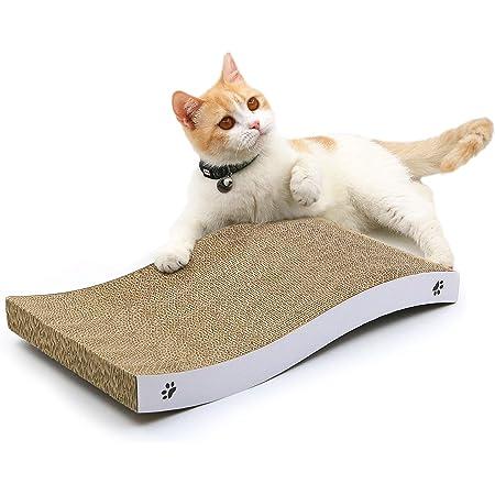 Coching Cat Scratcher Cardboard Cat Scratch Pad with Premium Scratch Textures Design Durable Cat Scratching Pad Reversible