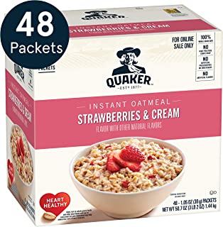 ingredients in instant oatmeal