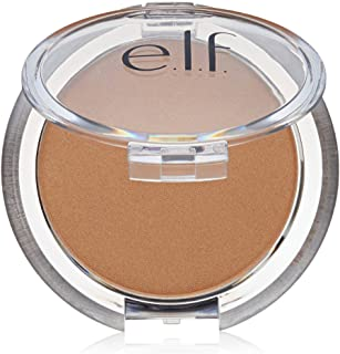 e.l.f. Cosmetics Bronzer Palette, Four Matte and Shimmer Powder Bronzers Create a Sun-Kissed Glow, Deep Bronzer