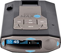 Escort MAX360C Laser Radar Detector - WiFi and Bluetooth Enabled, 360° Protection, Extreme Long Range, Voice Alerts, OLED ...