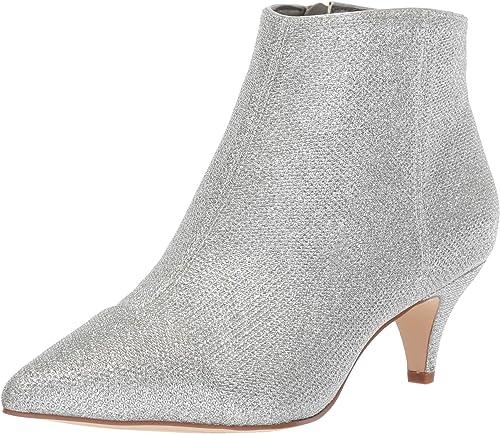 Sam Edelman Wohommes Kinzey 2 Fashion démarrage, Soft argent Glam Glam Glam mesh, 6 M US 38b