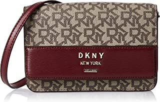 DKNY Women's Wallet, Ecru/Bld Red - R935JD70