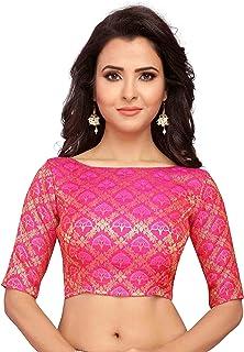 Stand Color Blouse Designs : Amazon u b u b blouses ethnic wear clothing