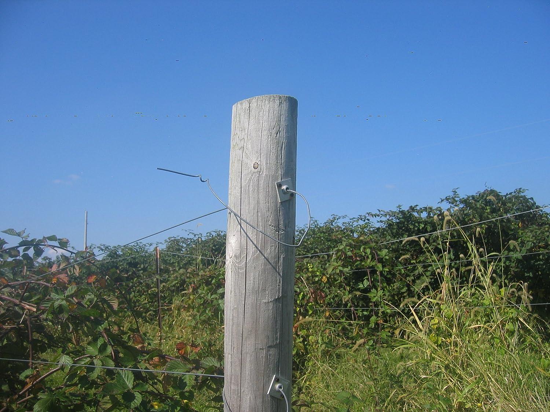 LinkEZ 20 pcs Anchor Vise Grape Trellis for 12~13GA Wire
