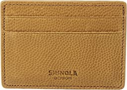 Shinola Detroit Latigo Id Card Case