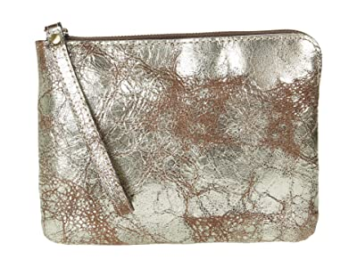 Patricia Nash Cassini Clutch (Chocolate Metallic) Handbags