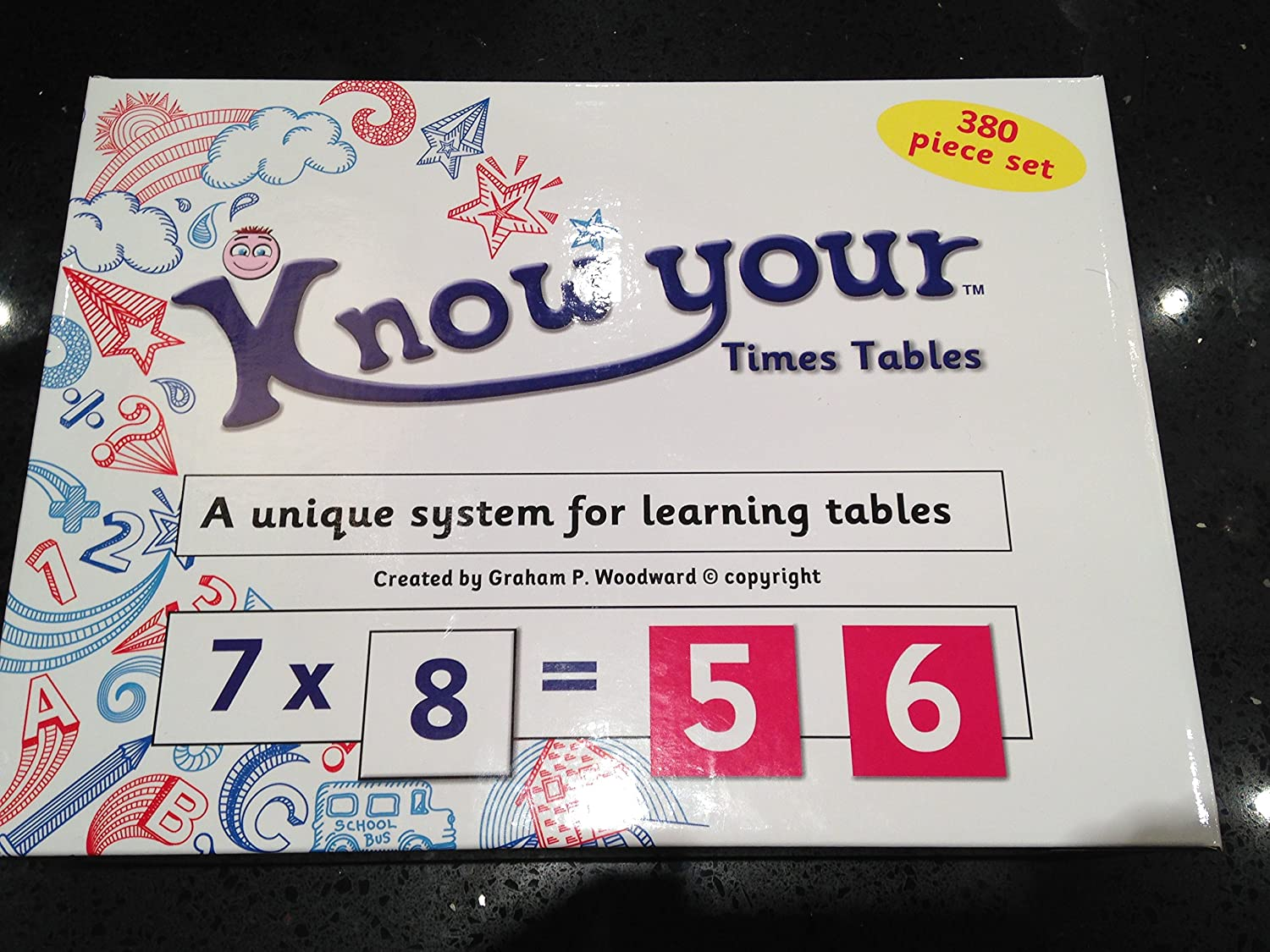 Know Your Times Tables learning system B00A8LS8PK  | Verschiedene aktuelle Designs
