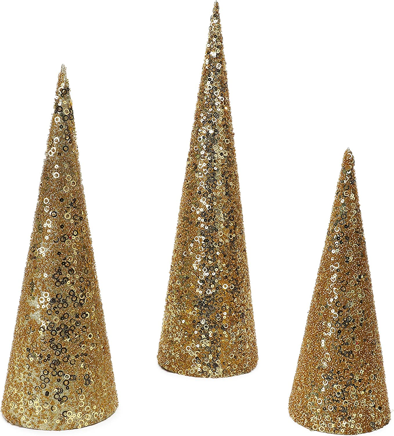 Christmas Concepts Set New arrival of 3 Trees De Detroit Mall Various Size Cone